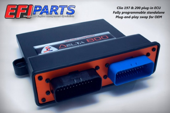 Clio 197    200 Rs Plug-and-play Standalone Ecu