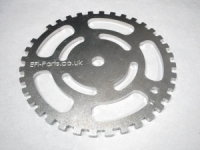 "150mm diamater 36-1 Trigger wheel (5.9"")"