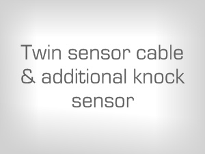 Twin sensor cable & additional sensor